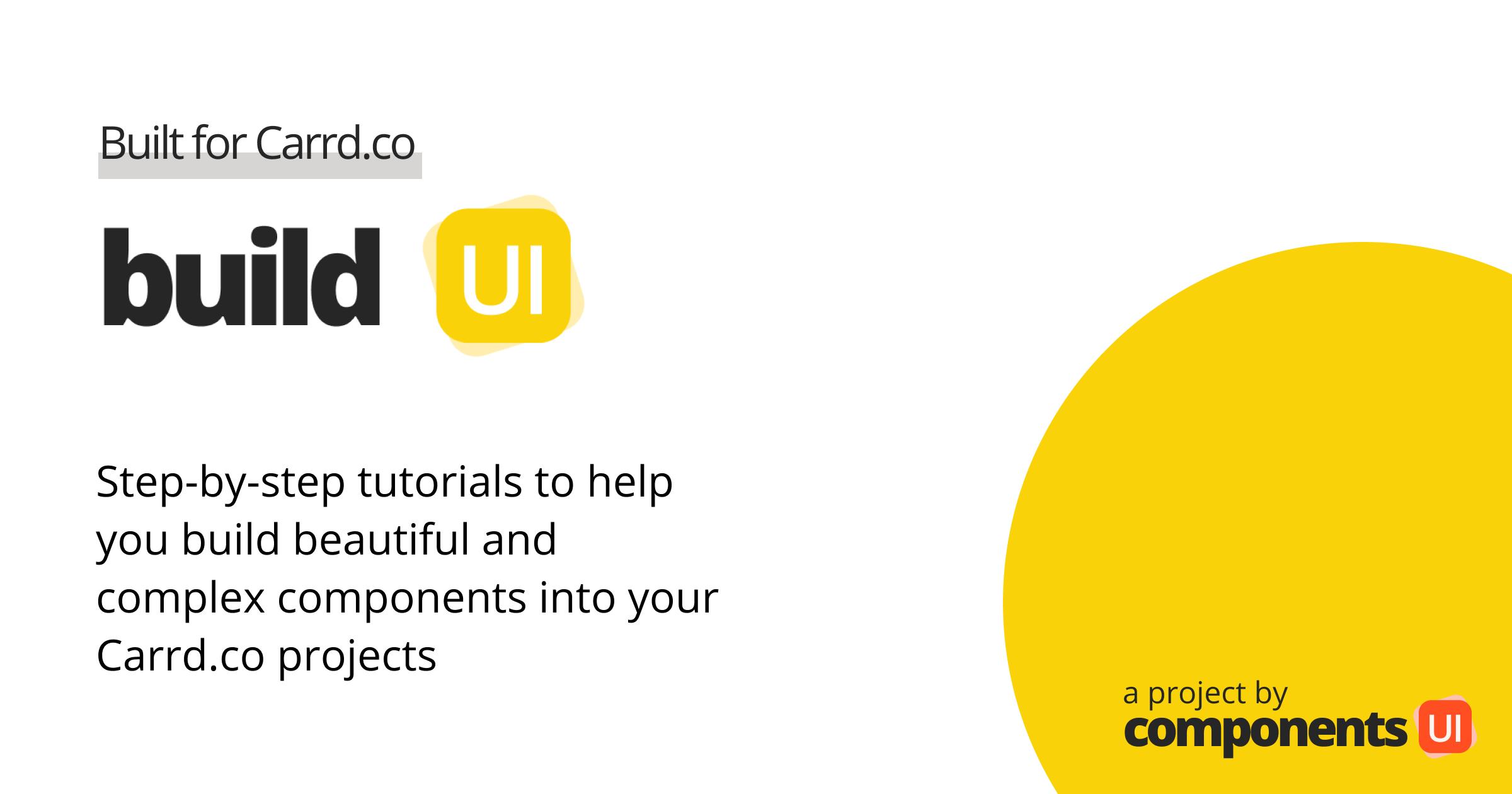 https://componentsui.com/build/